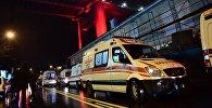 Карета скорой помощи в Турции, фото из архива