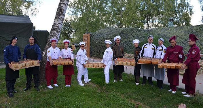 Финальный этап международного конкурса Полевая кухня в рамках Армейских международных игр