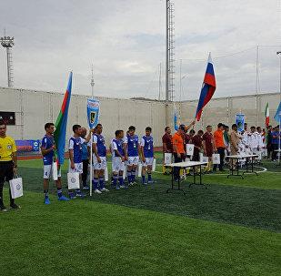 Соревнования по мини-футболу между участниками конкурса Кубок моря - 2017