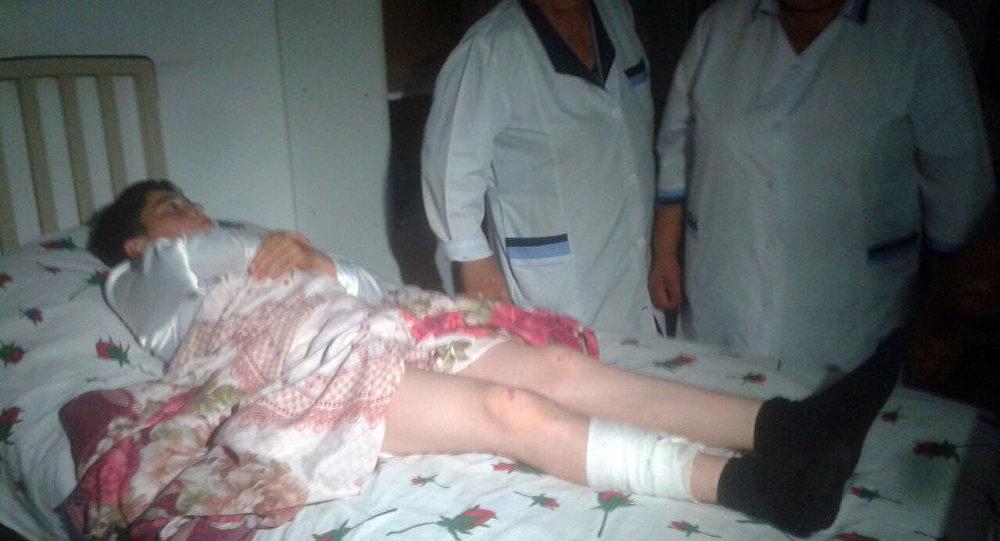 Рамин Юсифов в больнице