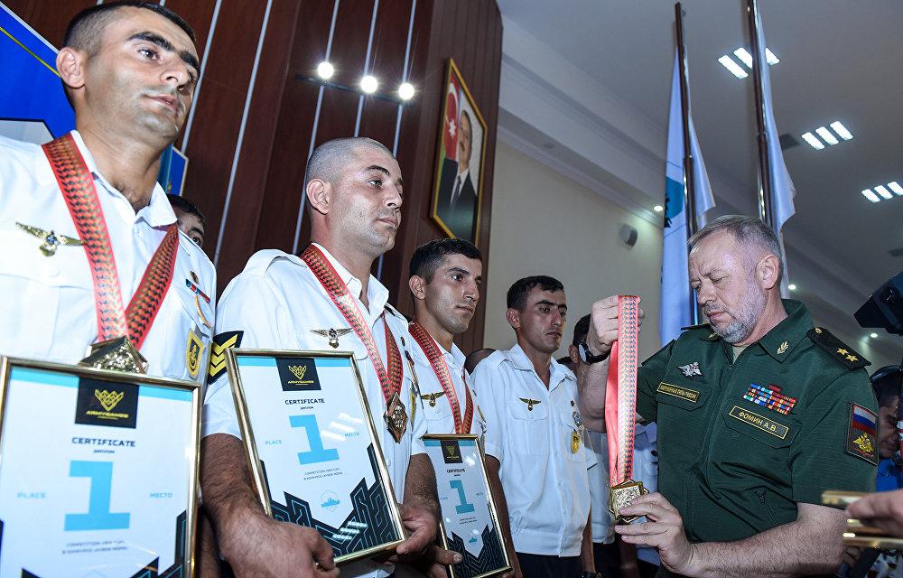 Церемония закрытия конкурса Кубок моря-2017