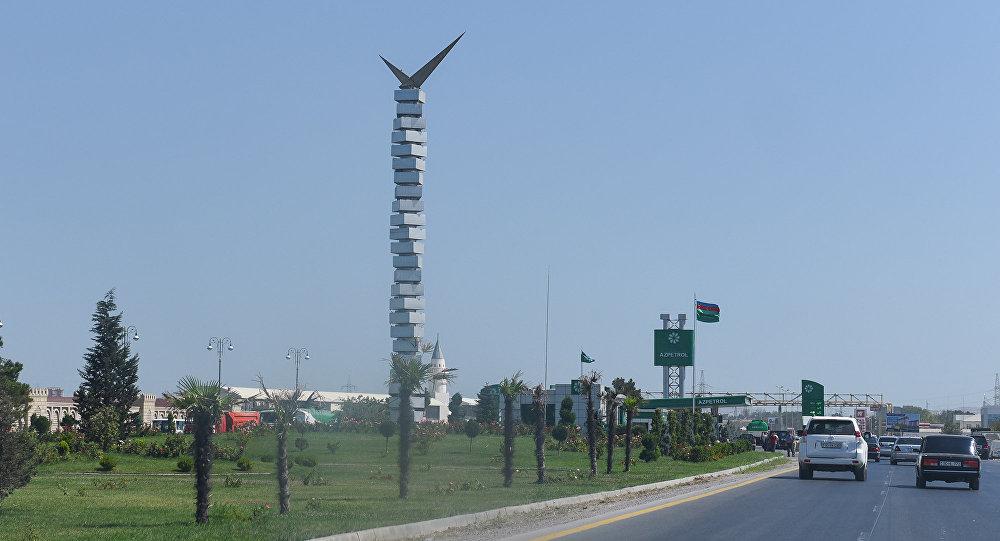 Символ города Сумгайыт