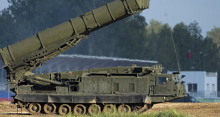 Российская система ПВО С-300ВМ Антей-2500, фото из архива