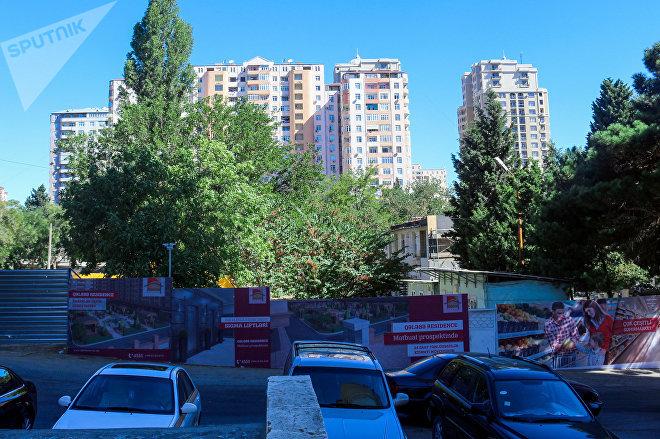Территория, где планируется построить многоэтажный дом