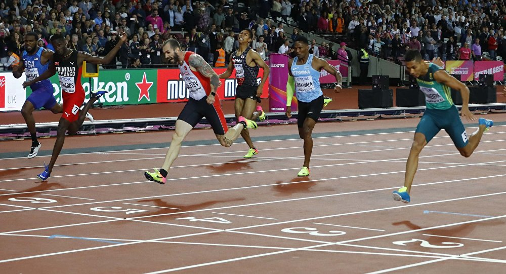 Ramil Quliyev Londonda keçirilən yüngül atletika yarışında