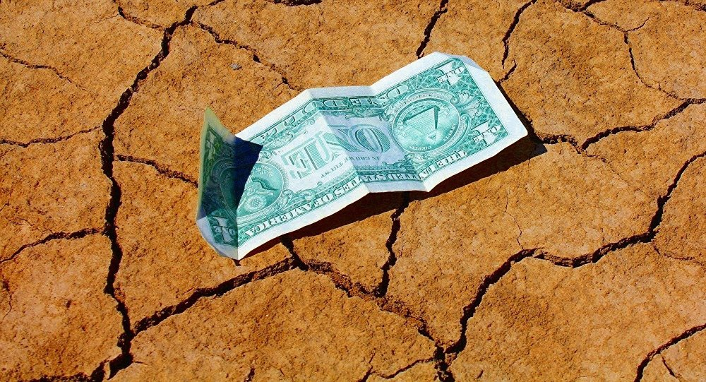 Купюра номиналом в один доллар, фото из архива