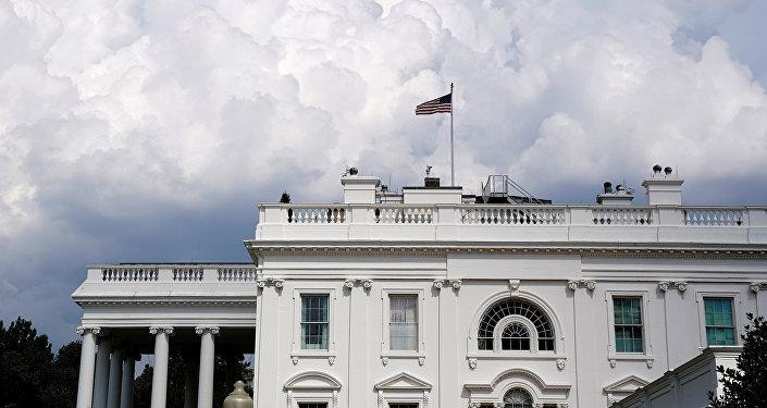 Белый дом в Вашингтоне, фото из архива