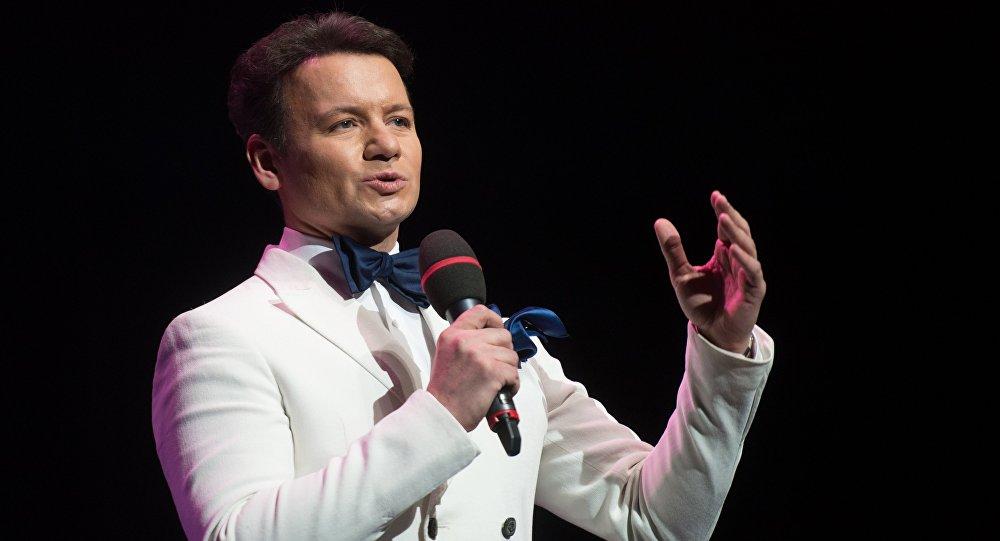 Актер Александр Олешко, фото из архива