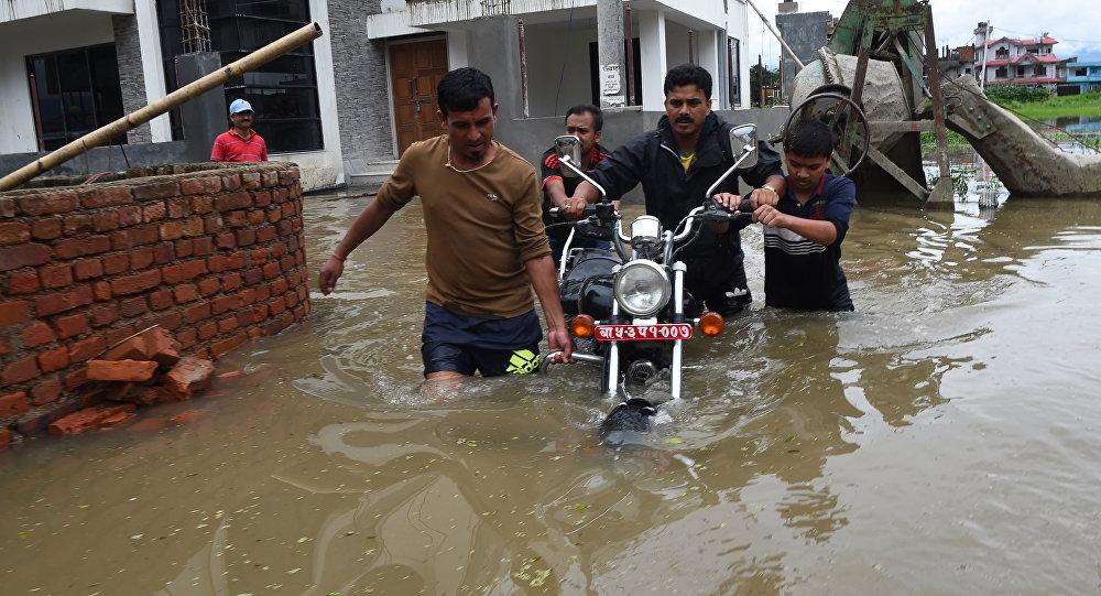Наводнение в Непале, 13 августа 2017 года