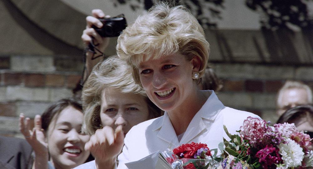 Şahzadə Diana Sidneyə səfəri zamanı, 2 noyabr 1996-cı il