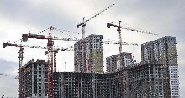 Строительство жилого дома, фото из архива
