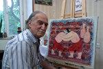 Заслуженный художник Азербайджана Аскер Аскеров, фото из архива