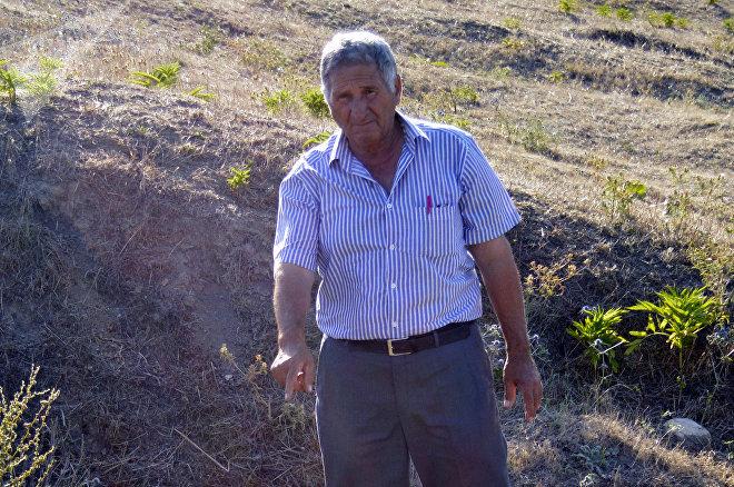 Житель села Ханагях Джалилабадского района Рза Рзаев