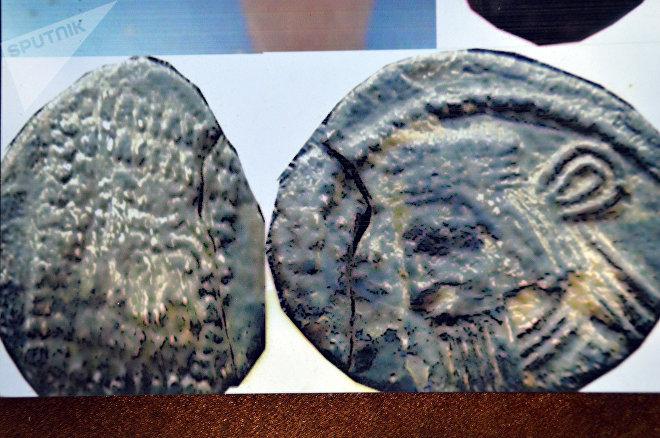 Обнаруженные в Худутепе парфянские монеты-дирахмы