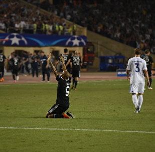 Футбольный матч Карабах - Копенгаген