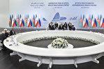 Встреча глав государств Азербайджана, Ирана и России, Баку, 8 августа 2017 года
