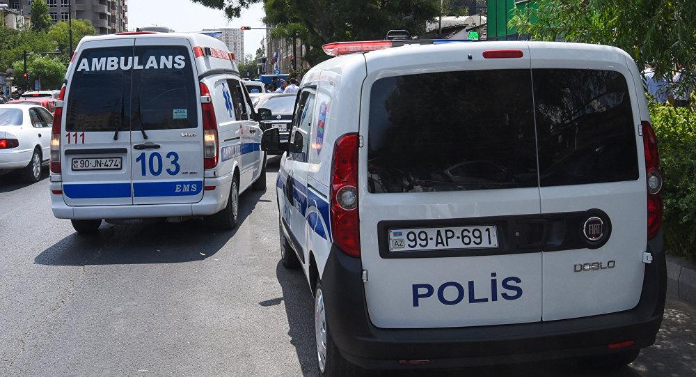 Təcili tibbi yardım və post patrul xidməti avtomobilləri, arxiv şəkli