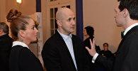 Хореограф, актер Егор Дружинин (в центре), фото из архива