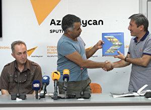 Fotoqraflar Sputnik Azərbaycan-a yığışdılar