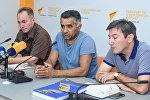 Всемирный день фотографии в пресс-центре Sputnik Азербайджан
