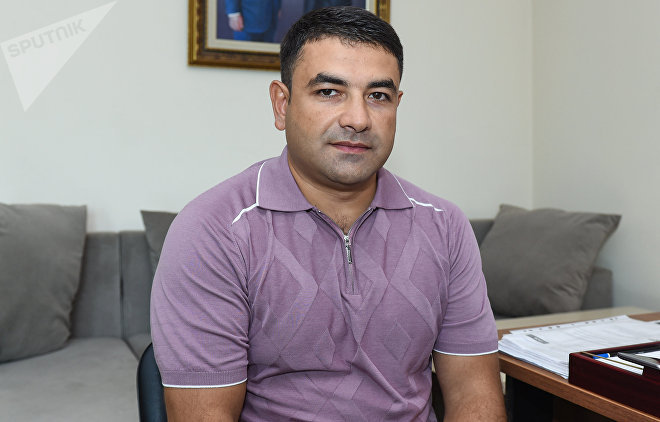 Azərbaycan Karate Federasiyasının vitse-prezidenti Rəhman Hətəmov
