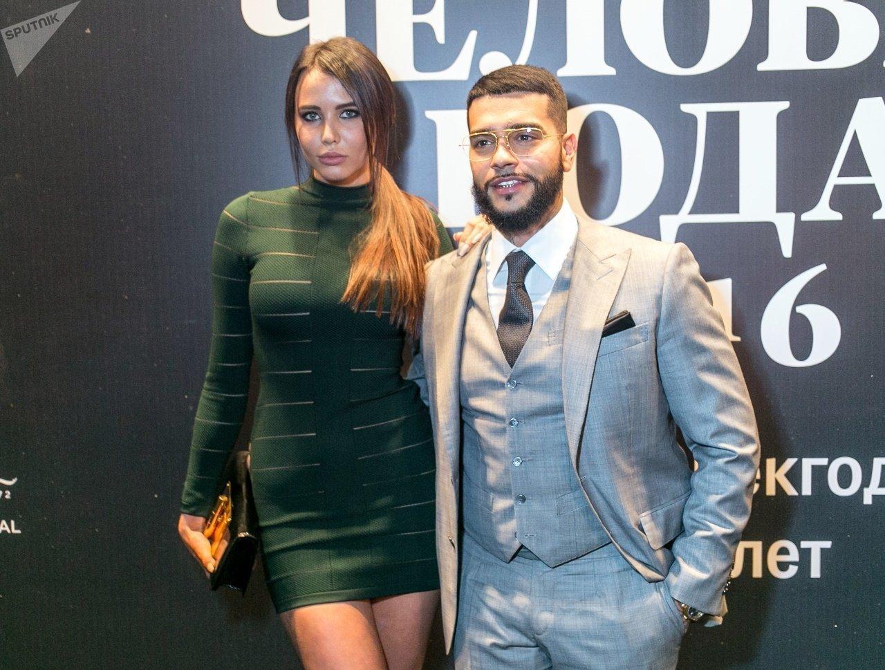 Model Anastasiya Reşetova və reper Timati