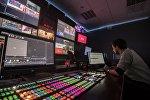 Life telekanalının studiyası, arxiv şəkli