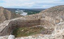 Древнего поселение Торпаггала в Товузском районе Азербайджана