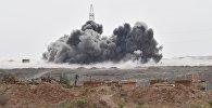 Rusiya HHQ-nin İŞİD mövqelərinə zərbəsi, arxiv şəkli