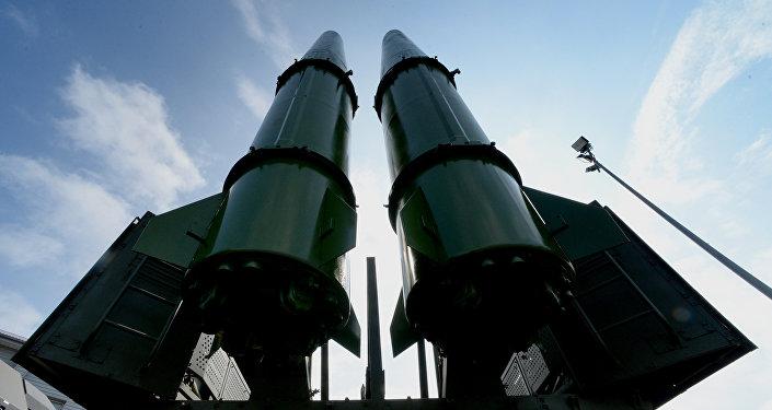 Ракетный комплекс Искандер-М, фото из архива