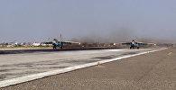Naxçıvanda Əlahiddə Ümumqoşun Ordunun aviasiya hərbi hissəsinin SU-25 hücum təyyarələri təlim uçuşları həyata keçirib