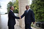 Soçidə Rusiya Prezidenti Vladimir Putin ilə İsrailin Baş naziri Benyamin Netanyahu arasında görüş, 23 avqust 2017-ci il