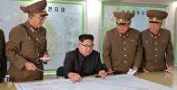 Şimali Koreya lideri Kim Çen In, arxiv şəkli