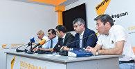 Мероприятие, посвященное борьбе со стихийными свалками в Баку