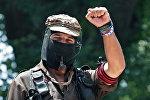 Zapatista lideri Subcommander Marcos