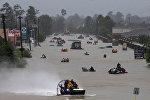 Последствия урагана Харви, Техас