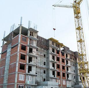 Строительство жилых домов, фото из архива