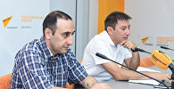 Видеомост Баку-Минск-Кишинев-Бишкек на тему Международный день блога глазами блогеров из СНГ