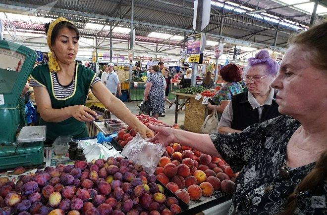 Рыночная торговля Калининграде