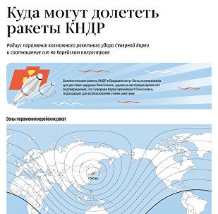 Куда могут долететь ракеты Северной Кореи
