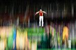 Соревнования по прыжкам на батуте, фото из архива