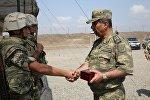 Руководство министерства обороны Азербайджана посетило воинскую часть в прифронтовой зоне