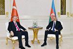 Azərbaycan prezidenti İlham Əliyev və Türkiyə prezidenti Rəcəb Tayyib Ərdoğan, 25 aprel 2016-cı il