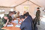 Оперативное совещание МЧС Азербайджана по результатам тушения лесных пожаров на территории Габалинского района