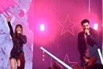 Эльман Зейналов и Ани Лорак на сцене Новой Фабрики звезд