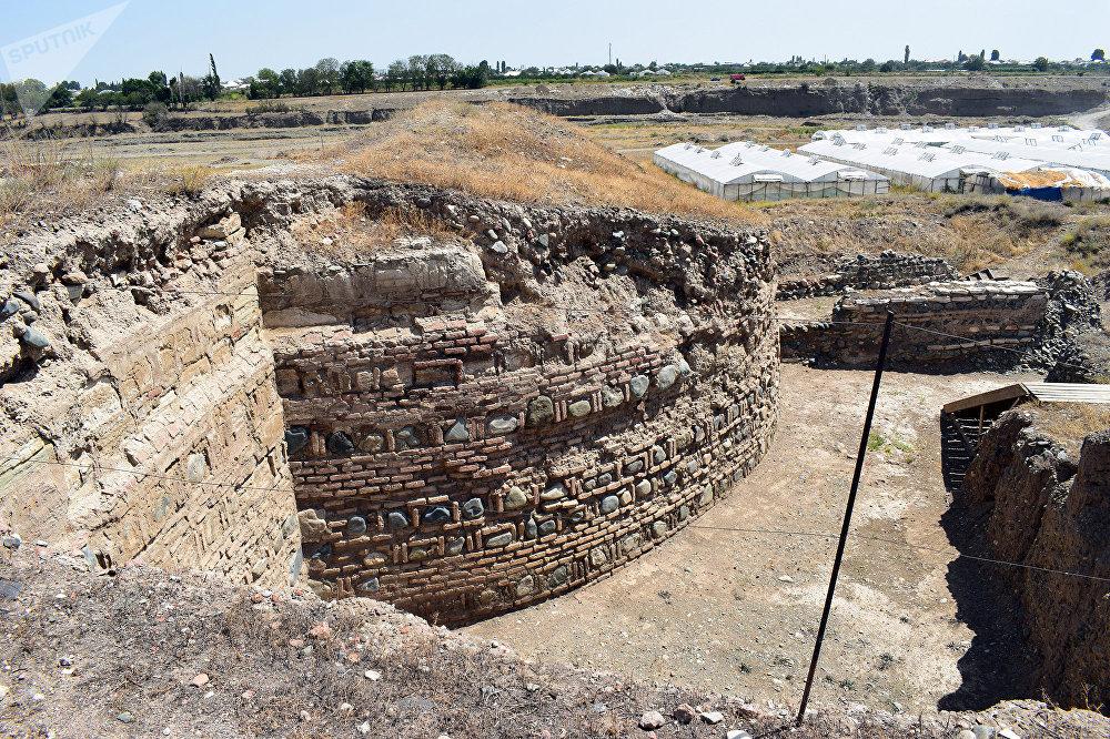 Qədim Şəmkir şəhəri ərazisində arxeoloji qazıntılar