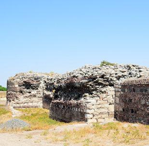 Археологические раскопки в древнем городе Шамкир