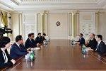 Prezident İlham Əliyev Koreya Respublikası Milli Assambleyasının nümayəndə heyətini qəbul edib