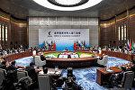 Встреча лидеров БРИКС в расширенном составе, Сямэнь, Китай, 4 сентября 2017 года