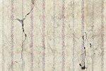 Стена, поврежденная землетрясением, архивное фото